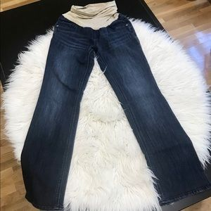 Oh! Baby maternity jeans with comfort waistband